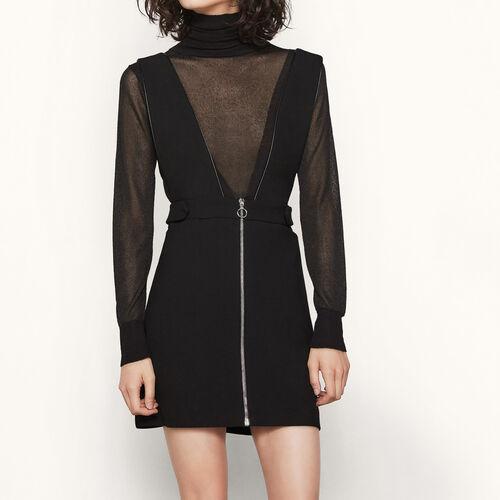 Kurzes Kleid mit breiten Trägern - Best Sellers - MAJE