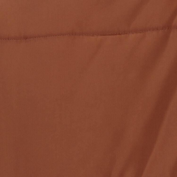 Kurze Daunenjacke mit Kapuze : Mäntel farbe Karamell