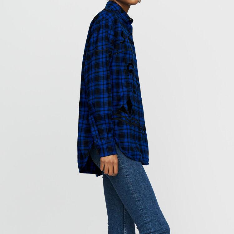 Shirt mit Karos : Hemden farbe CARREAUX