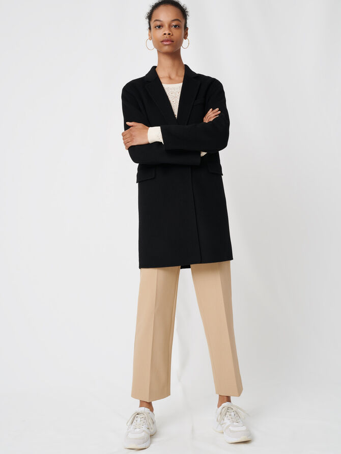 Manteau en laine double face - Mäntel & Jacken - MAJE