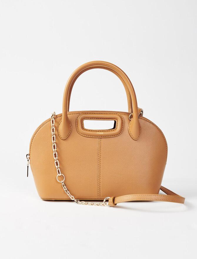 Bugatti-Tasche aus Glattleder -  - MAJE