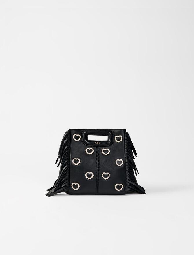 M Mini-Tasche aus Leder -  - MAJE