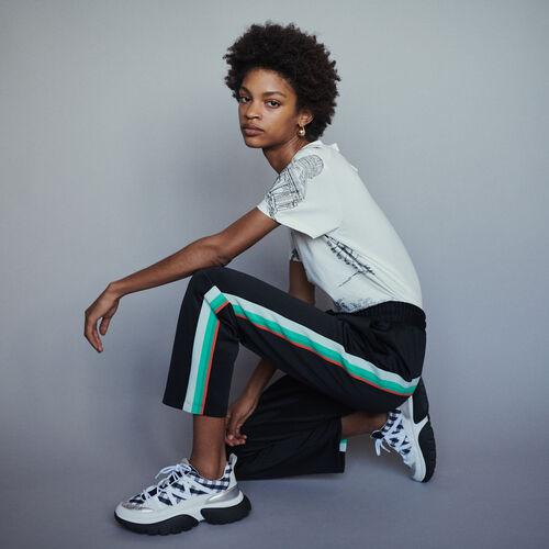 Sportliche Hose : Hosen farbe SCHWARZ