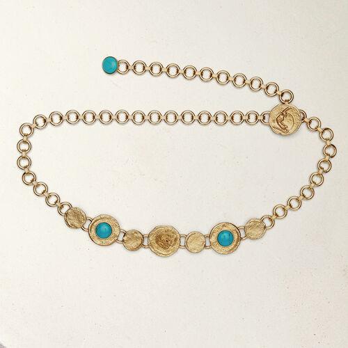 Jewels belt : Gürtel farbe OR