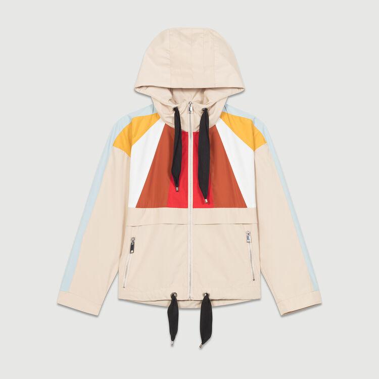 Waterproof parka : Jacken farbe Beige