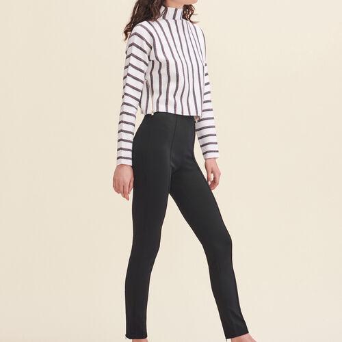 Leggings im Steghosen-Stil : Pantalons & Jeans farbe Schwarz