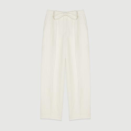 Bundfaltenhose : Hosen & Jeans farbe Weiss