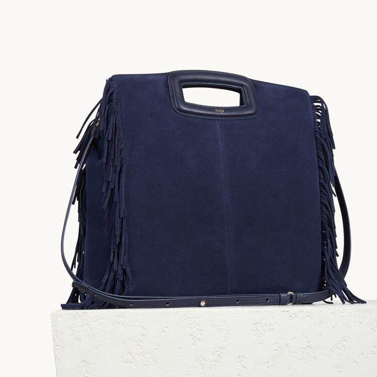 Veloursledertasche mit Fransen : Meine Mutter farbe
