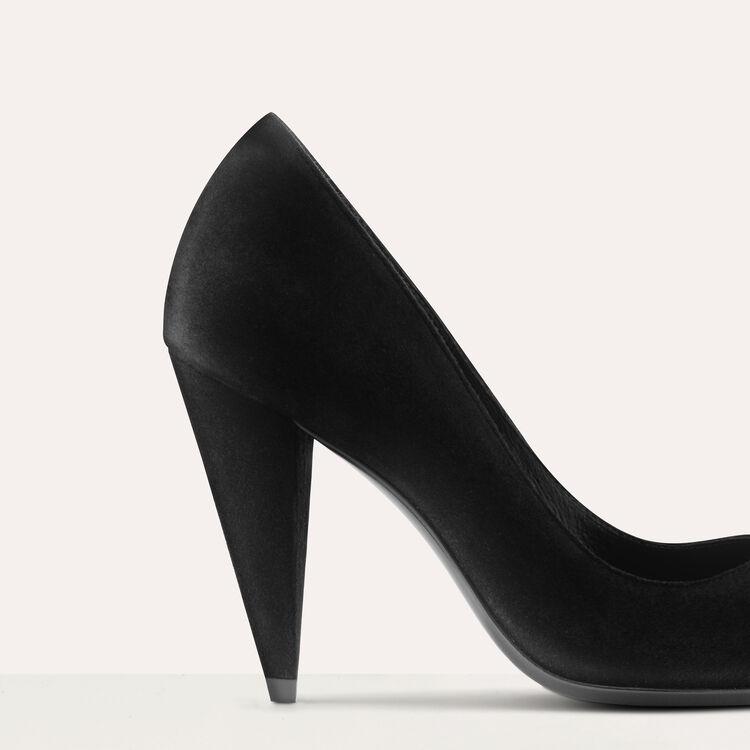 High heals suede shoes : Schuhe farbe Schwarz