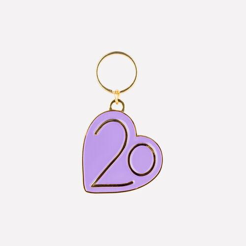 Schlüsselanhänger X 20 jahre : Gadgets farbe Violett
