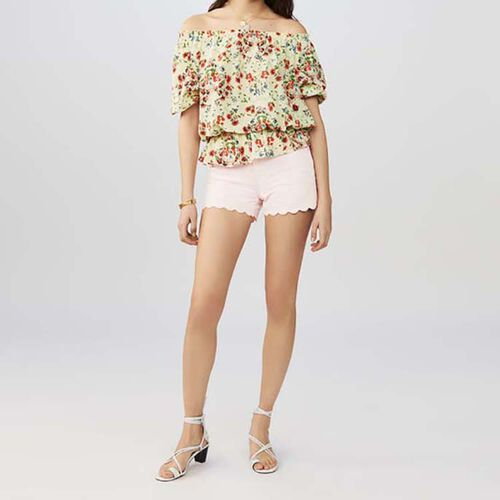 Silk printed top : Sommer Kollektion farbe IMPRIME