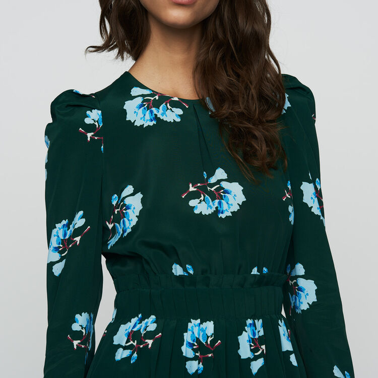 Kurzes Kleid mit Blumen-Print : Jumpsuits farbe IMPRIME
