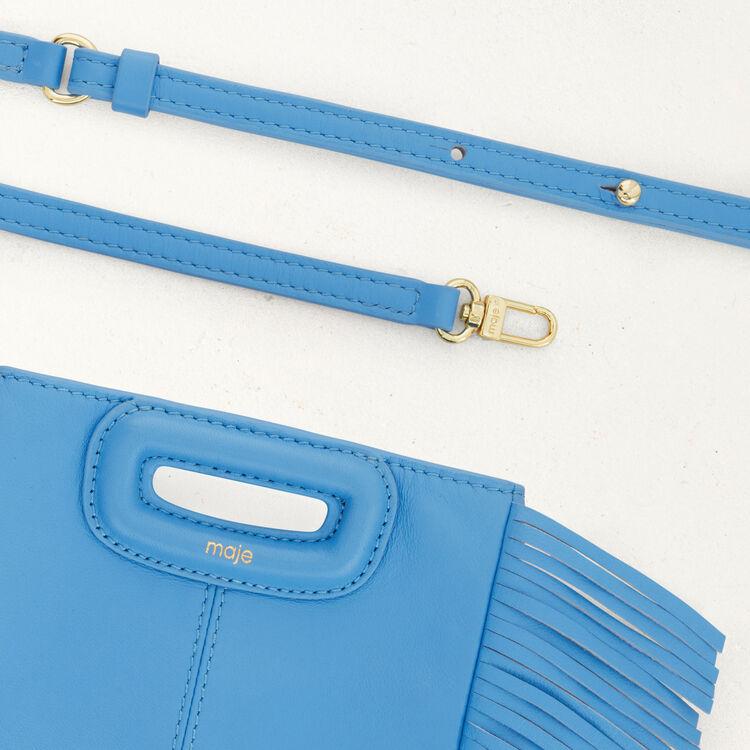 M Mini Tasche aus leder : M Mini farbe Blau