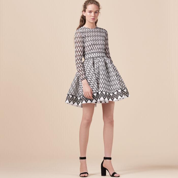 Eislaufkleid aus Spitze - Dress Code - MAJE