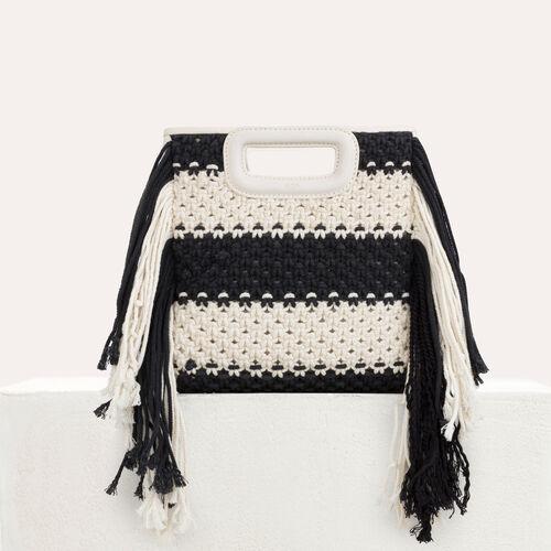 M Tasche aus Leder : M Tasche farbe Schwarz
