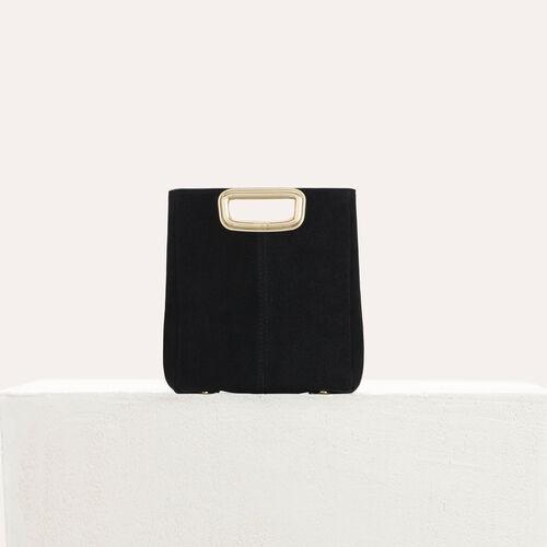 M Mini SKin Clutch aus Leder : M Mini farbe Schwarz