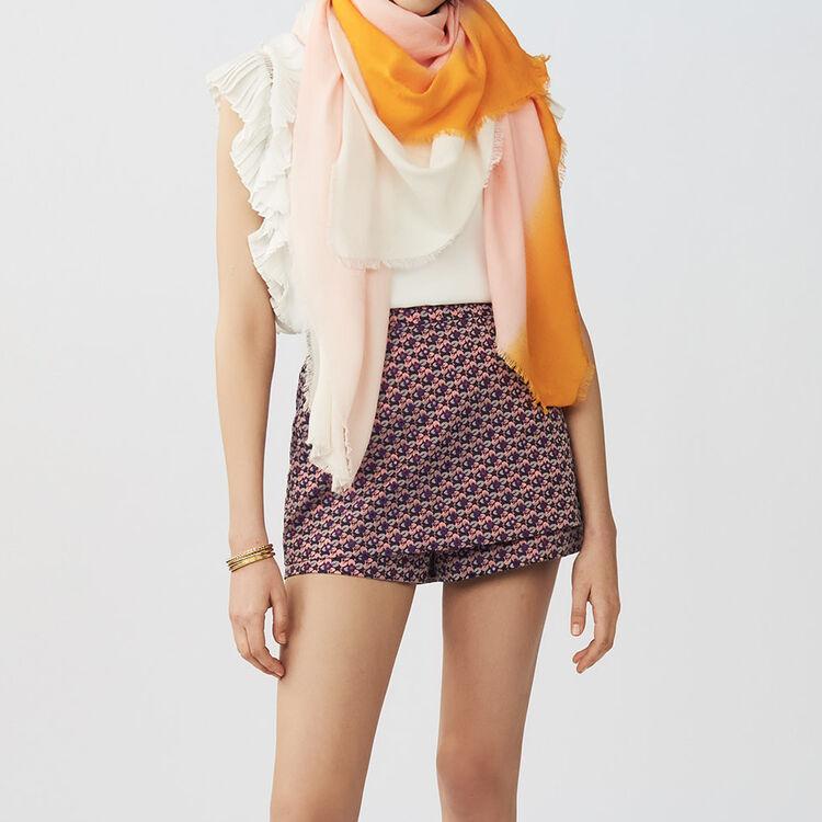 Tie and dye M printed : Schals & Ponchos farbe Zweifarbig
