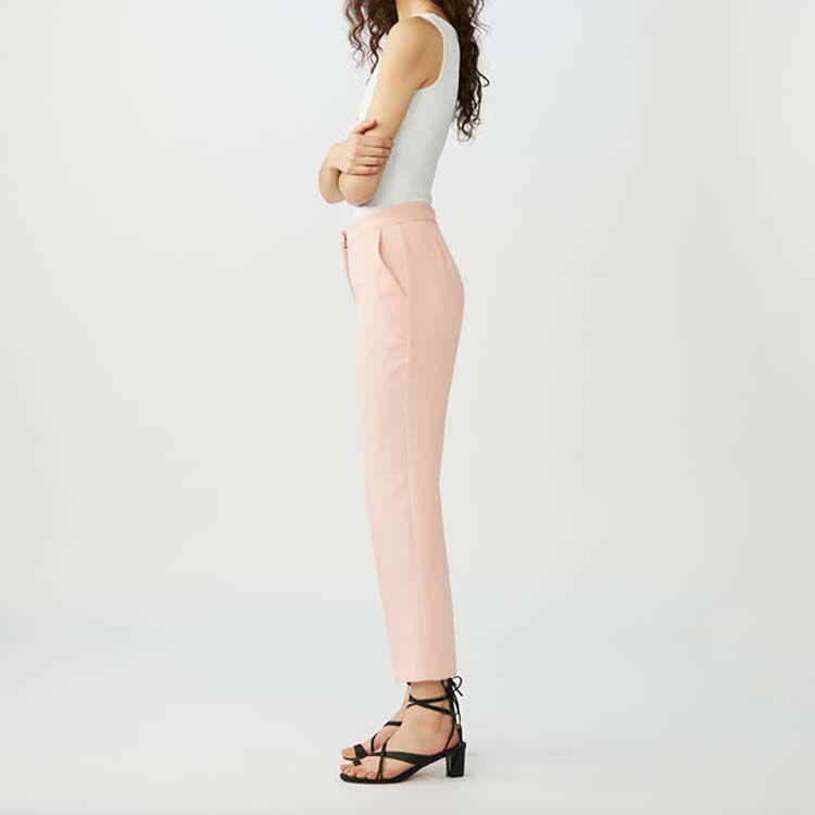 Gerade weite Hose : Hosen farbe Rosa