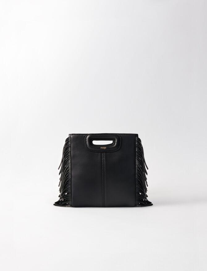 M Mini Leder Tasche mit Kette -  - MAJE