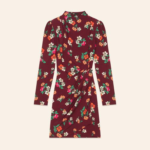 Bedrucktes Wickelkleid : Robes farbe Print