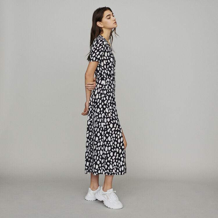 Langes Kleid : Kleider farbe IMPRIME