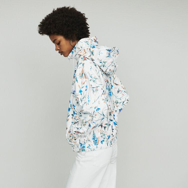 Windbreaker with floral print : Mäntel & Jacken farbe IMPRIME