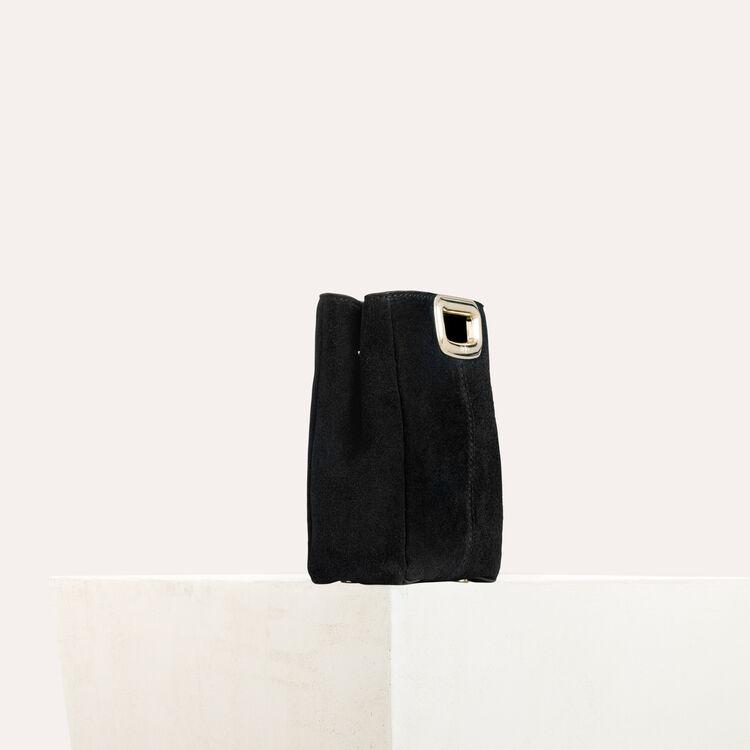 M Mini SKin Clutch aus Leder und Metall : M Skin farbe Schwarz