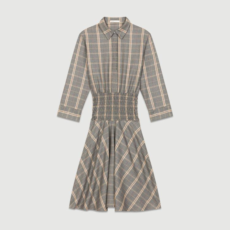 Kariertes Kleid : Kleider farbe CARREAUX