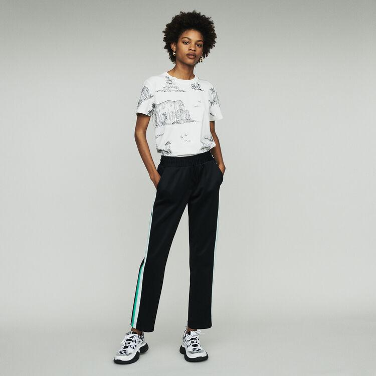 Sportliche Hose : Hosen & Jeans farbe SCHWARZ