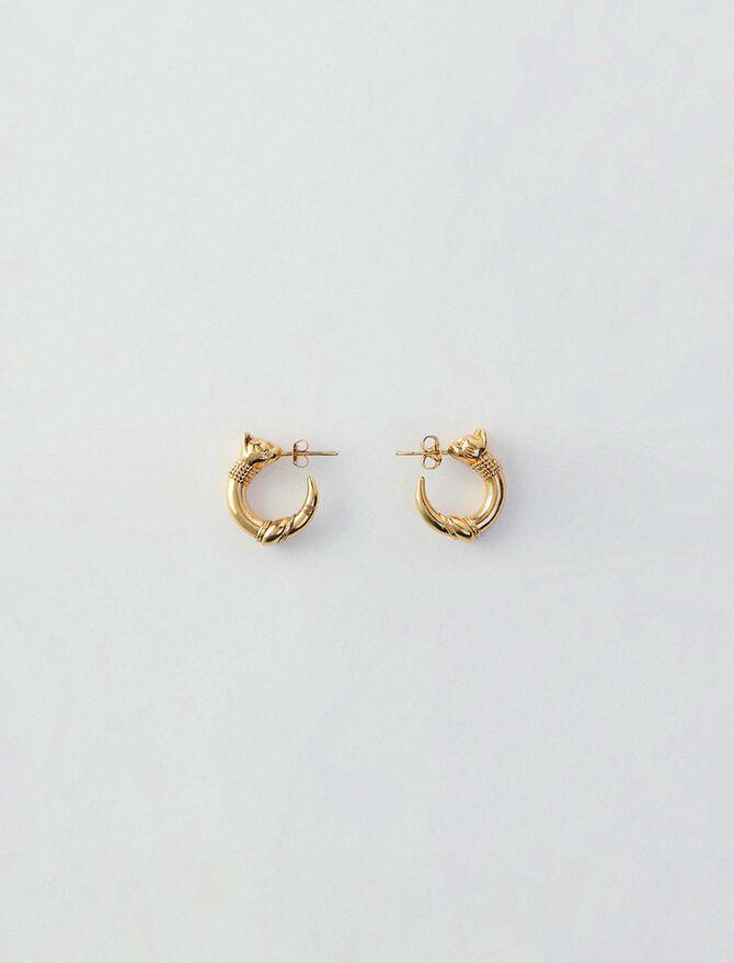 Small cat hoops - Schmuck - MAJE