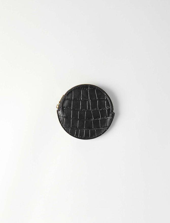 Geldbörse aus gekämmten Leder -  - MAJE