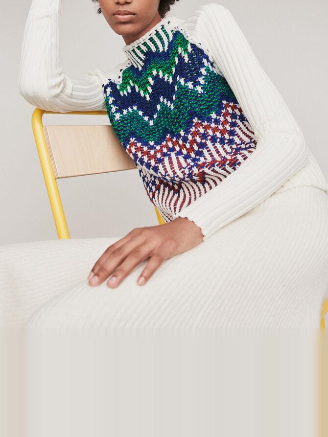 Pullover mit ausgefallenen Motiven - Strickwaren - MAJE