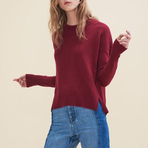 Kaschmirpullover : Pullover und Cardigans farbe Burgunderrot