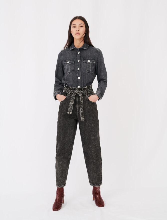 Slouchy Jeans - Umweltfreundliche - MAJE