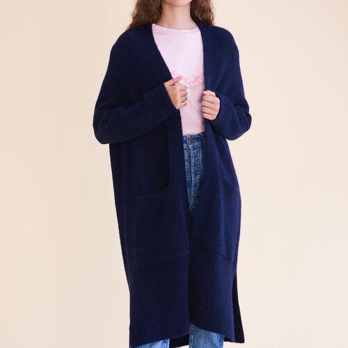 Langer Oversize-Cardigan : Pulls & Cardigans farbe Karamell