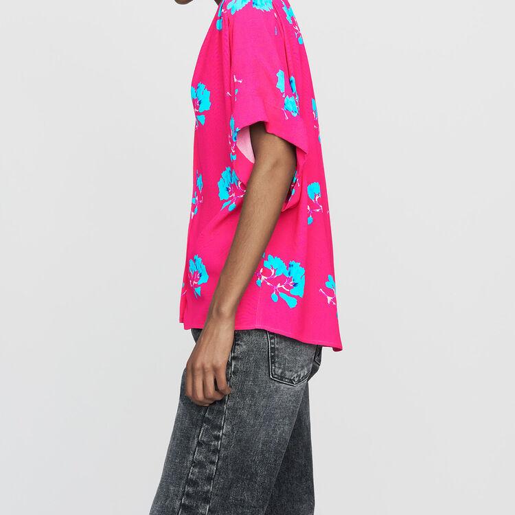 Oversize-Hemd mit Print : Bekleidung farbe IMPRIME
