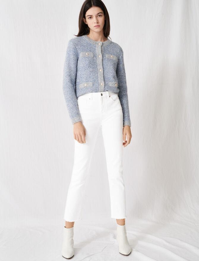 Weiße gerade Jeans - Hosen & Jeans - MAJE
