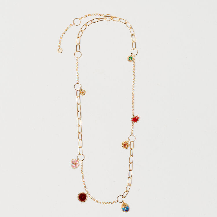 Necklace with mixed links : Schmuck farbe OR