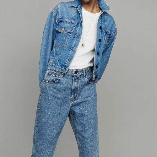 Kurze Jeansjacke : Urban farbe Denim