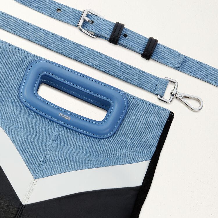M Tasche aus Leder und Denim : See all farbe Mehrfarbigen