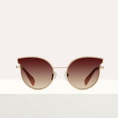 "Sonnenbrille in ""Cat Eye""-Form : Brillen farbe Rosa"