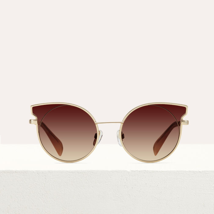 "Sonnenbrille in ""Cat Eye""-Form : See all farbe Rosa"