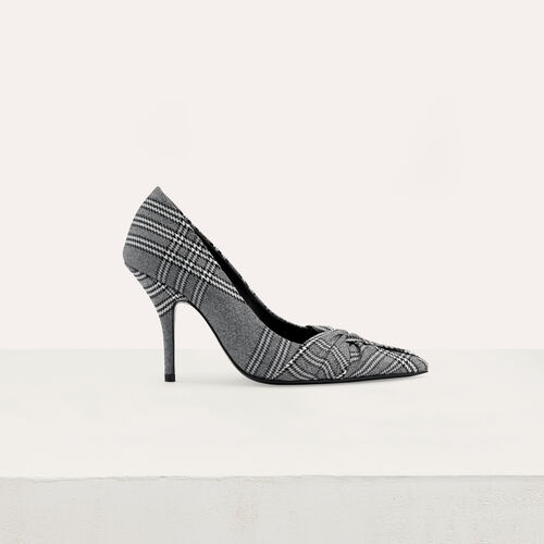 Drapierte Pumps : Pumps farbe CARREAUX