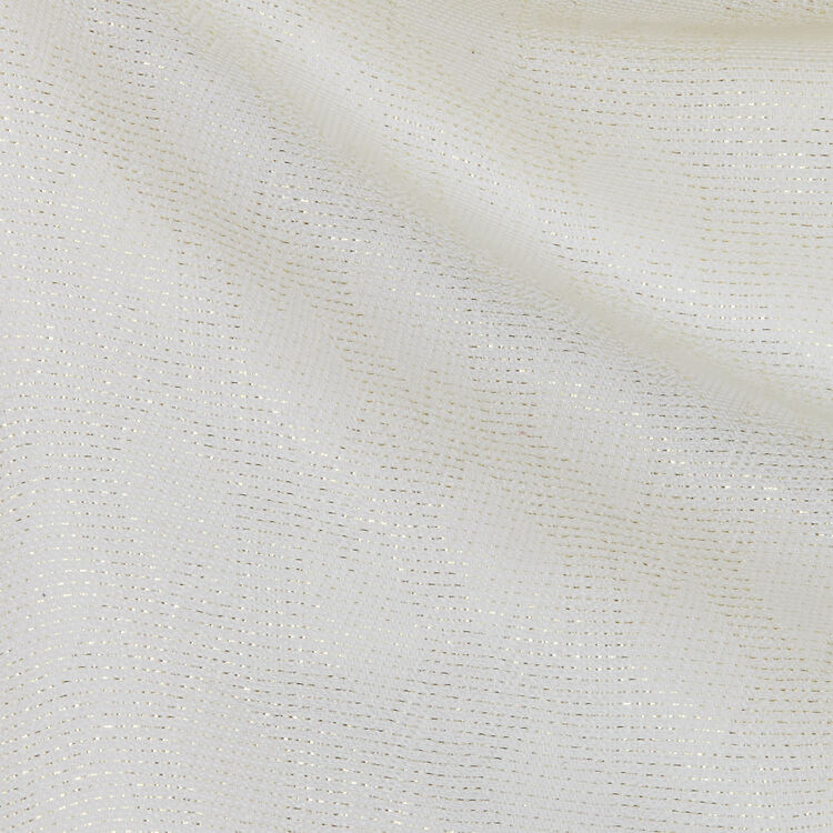 Schal mit M Motif aus Lurex : New in : Sommer Kollektion farbe  Off-White