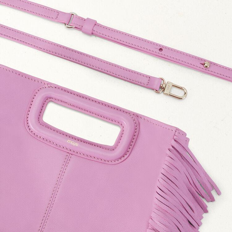 M Tasche aus Lammleder : M Tasche farbe LILAS