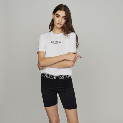 Short with love : Röcke & Shorts farbe Schwarz