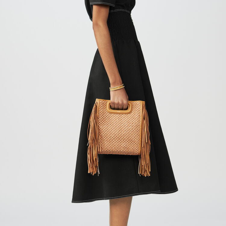 Gesmoktes schulterfreies Kleid : Kleider farbe Schwarz