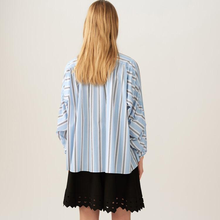 Kleid aus Ajourstrick : Röcke & Shorts farbe Schwarz
