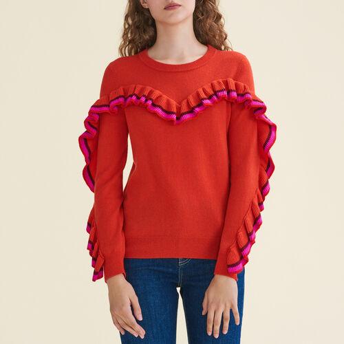 Pullover aus Wolle und Kaschmir - Strickwaren - MAJE