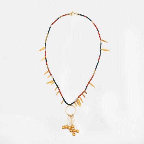 Lange Halskette mit Pampillen - Alles einsehen - MAJE